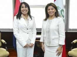 Ministra Silva y presidenta de Costa Rica intercambiaron información para aprovechar TLC