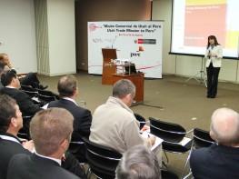 Ministra Magali Silva inaugura primera misión comercial de casi 60 empresarios de Utah