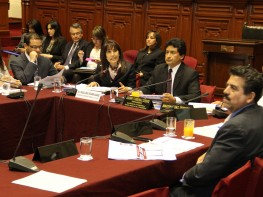 Ministra Magali Silva sustentó presupuesto del año fiscal 2014 de sector Comercio Exterior y Turismo