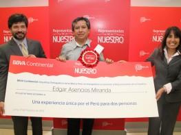 """MINCETUR y PROMPERÚ premiaron al primer ganador de concurso """"Representantes de lo Nuestro"""""""