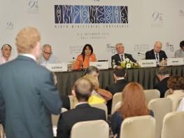 Perú reafirma compromiso con el sistema multilateral del comercio en Indonesia