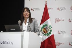 Ministra Magali Silva clausura programa Ruta Exportadora 2014