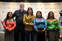 "Ministra Magali Silva: ""Diseñador italiano capacita a artesanos peruanos para generar competitividad en mercado nacional e internacional"""