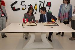 Ministra Magali Silva acuerda con su homólogo de España acciones conjuntas para fomentar el turismo en los próximos años