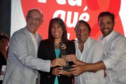 Ministra Magali Silva entrega reconocimientos a tour operadores que contribuyen al éxito de ¿Y tú qué planes?
