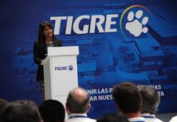 Ministra Magali Silva saluda inicio de actividades de nueva planta de la empresa Tigre que contribuirá a la diversificación de la oferta exportable peruana.
