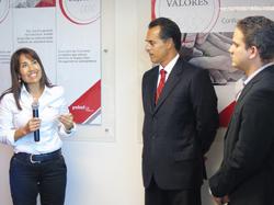 Ministra Silva inaugura en Panamá nuevas instalaciones de exitosa empresa peruana exportadora de servicios