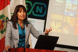 """Ministra Silva: """"Capacitaremos a nivel nacional en acceso a mercados para consolidar calidad de productos de exportación"""""""