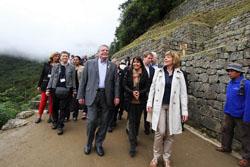 Presidente de Alemania visitó Machu Picchu acompañado de la Ministra de Comercio Exterior y Turismo