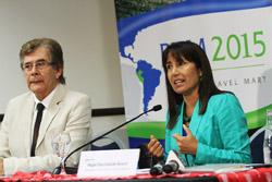 """Ministra Magali Silva: """"Peru Travel Mart 2015 pondrá en vitrina nuevos productos turísticos anteempresarios extranjeros"""""""