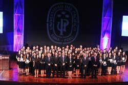 Ministra Silva fue invitada de honor en ceremonia de graduación de 85 nuevos profesionales de la Universidad del Pacífico