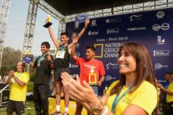 Ministra Magali Silva da la largada de la primera edición de la Carrera Nat Geo en el Perú