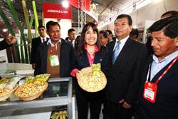 "Ministra Magali Silva: ""Exportaciones de productos naturales mostraron un incremento de52% en el primer semestre del año"""