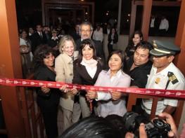 Ministra Magali Silva inaugura nuevo Museo de Sitio de Túcume