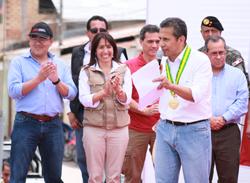 """Ministra Magali Silva: """"Estamos invirtiendo S/. 29 millones en la región San Martín"""""""