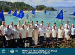 Concluyó reunión de Ministros de Comercio de APEC en Boracay – Filipinas