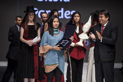 Silvia Paredes es la joven creadora que parte de Perú Moda hacia el mundo