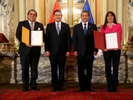 Perú y Honduras firmaron Tratado de Libre Comercio bilateral