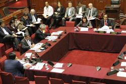 Ministra Magali Silva sustenta presupuesto 2015 de su sector en el Congreso de la República