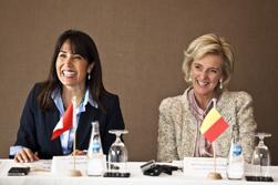 """Ministra Magali Silva inaugura evento """"Bélgica, puerta de entrada al mercado europeo"""""""