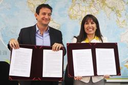 Mincetur y la Asociación Liga Peruana de Lucha Contra el Crimen firman convenio de cooperación por la seguridad de los turistas