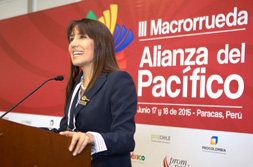 Ministra Magali Silva: Más de 4,000 citas de negocios se esperan en Macro Rueda Alianza Pacífico