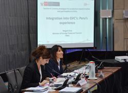 Ministra Magali Silva expone experiencia peruana en el Diálogo de Políticas sobre Cadenas Globales de Valor en Kuala Lumpur