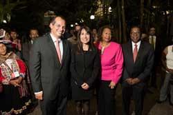 Ministra Magali Silva inaugura 49° Festival de Tradiciones Populares del Instituto Smithsonian en Washigton DC
