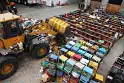 Destruyen 716 máquinas tragamonedas que eran usadas ilegalmente para niños y adultos