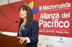 """Ministra Silva: """"Cumbre Empresarial de la Alianza Pacífico proveerá alianzas estratégicas"""""""