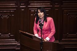 Ministra Magali Silva sustenta presupuesto 2015 y remarca las principales metas de su sector en el Congreso de la República