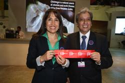 """Ministra Magali Silva: """"Pabellón peruano de la COP 20 refleja nuestro compromiso para enfrentar desafíos del cambio climático"""""""