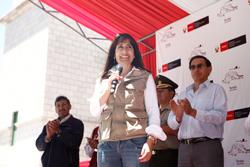 Ministra Magali Silva preside comitiva para incentivar atractivos de región Moquegua
