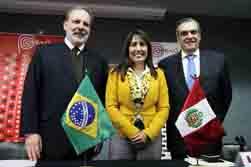 Perú y Brasil acordaron profundizar sus relaciones comerciales bilaterales