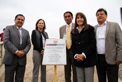 Ministra Magali Silva entrega obras en Complejo Arqueológico El Brujo
