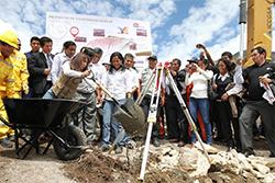 Gobierno puso en marcha construcción del Primer Sistema de Telecabinas Kuélap en Amazonas