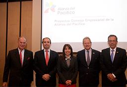 En la transferencia de la Presidencia del CEAP  Ministra Silva invita al Consejo Empresarial de la Alianza del Pacífico-CEAP a seguir avanzando en la integración comercial