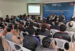 Ministra Silva expuso beneficios del TPP para las pequeñas empresas que operan en el Parque Industrial de Villa El Salvador