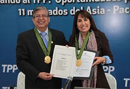 Ministra Silva expuso ante pequeños y medianos empresarios de Carabayllo las oportunidades del TPP