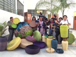 """Diseñador brasileño Marcelo Rosenbaum compartió sus técnicas con más de 180 artesanos en la conferencia """"Jueves del Diseño Artesanal"""""""