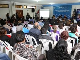 Ministra Magali Silva reafirma ante emprendedores del distrito de El Agustino que TPP promoverá la internacionalización de las Pymes