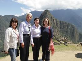 Christine Lagarde visita Cusco antes de iniciar sesiones de la Junta de Gobernadores del FMI y Banco Mundial