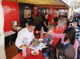 PERÚ participa por primera vez en la prestigiosa feria gastronómica Mercat de Mercats