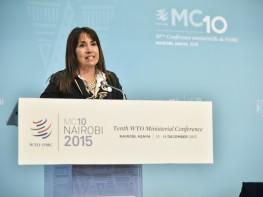 Perú reafirma su compromiso con el Sistema Multilateral del Comercio en Nairobi
