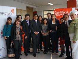 Reconocen a Cenfotur como uno de los mejores centros de evaluación y certificación de competencias laborales del 2015