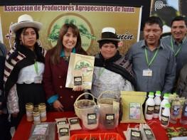 Mincetur y Gobierno Regional de Junín se unen para dar inicio a una serie de actividades que impulsan exportaciones de maca