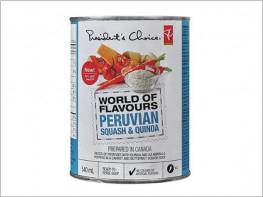Reconocida cadena de supermercados canadiense pone a la venta sopa de calabaza y quinua peruana