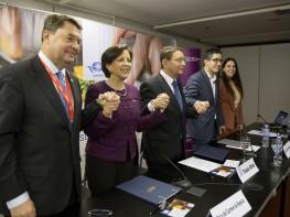 Perú firma importante convenio con la Organización Mundial del Turismo durante FITUR 2016