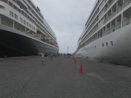 Mincetur: Dos cruceros turísticos llegaron hoy al puerto del Callao