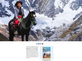 """Ministra Magali Silva: """"Reconocimiento del Perú en lista 'Rough Guides' nos impulsa a seguir promoviendo lo mejor de nuestro país"""""""